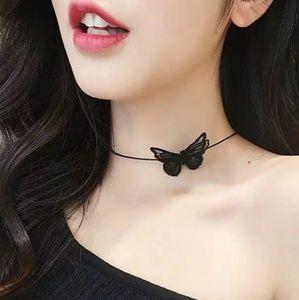 Jewelry - {c a i l y} Black Butterfly Choker